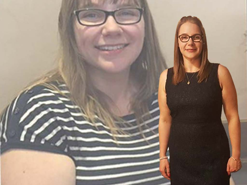 one year on 6 dress sizes smaller, I've lost 47kg    The